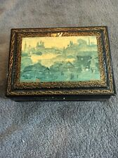 Russian lacquered box (signed) 1993
