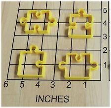 Puzzle Pieces Shaped Fondant Cookie Cutter Set #1119