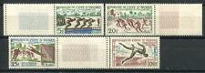 Costa d'Avorio 1961 Mi. 233-236 Nuovo ** 100% Giochi sportivi, cultura