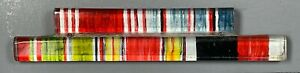 WWII US Army Plastic Coated Ribbon Bar