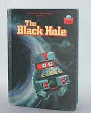 Walt Disney The Black Hole 1979 Hardcover Wonderful World of Reading RARE
