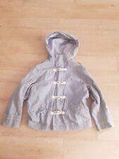 Next boys grey hooded light weight coat age 4. VGC