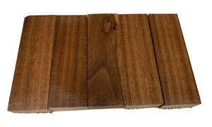 """5 Paquet,1.5 """" X 1 """" X 5 """" Noyer Bois Charpente,Couteau Vide DIY Tissu Pour"""