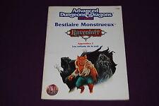 AD&D JDR Jeu de Role - Ravenloft : Bestiaire Monstrueux 3 : Enfants de la Nuit