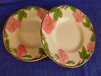Franciscan Desert Rose BREAD PLATE LOT of TWO 2 have more items to set