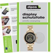 6x Michael Kors Sofie 2.0 Smartwatch Screen Protector Protection Anti Glare