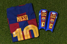 *LIONEL MESSI* MATCH WORN SHIN PADS NO SHIRT BOOTS *BARCELONA F.C.*