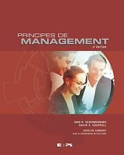 Principes de Management - SECOND EDITION