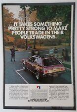 Vintage 1972 Cadillac Eldorado - Full Page AD