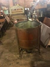 Antique EASY Wringer Washer Copper Tub   Shipping???