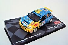 RENAULT  CLIO  S1600  #69 - RALLYE MONTE CARLO 2007  - BETTI / AGNESE  - 1/43