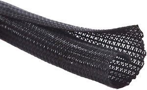 Alex Tech 10ft - 1 inch Cord Protector Wire Loom Tubing Cable Sleeve Split for –