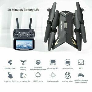 DRONE Radio/Remote Control WiFi FPV HD Camera Foldable Quadcopter WE'VE TESTED!
