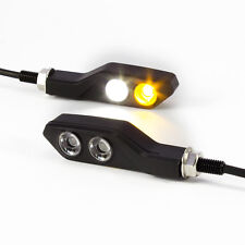 Retro Motorbike Billet Ally Integrated LED Indicators & Daytime Running Light