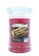 holiday time candle jar cinnamon 15oz ( 425.2g) candle USA