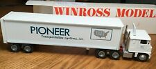 Winross White 7000 Pioneer Transportation Tractor/Trailer 1/64