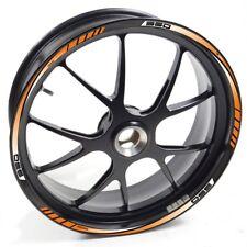 NLEN Sticker wheel Rim KTM 950 SM 950sm R Orange strip tape vinyl adhesive