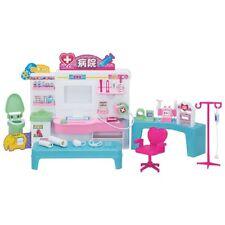 Casa y muebles para muñecas
