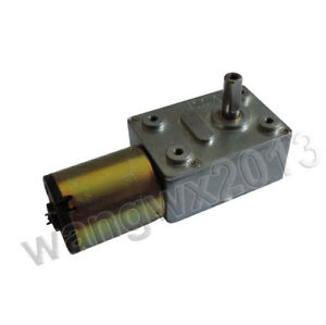 12V JGY372 Self-locking Turbo Worm Gearmotors Gearbox Speed Reduction Gear Motor