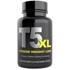 T5 FAT BURNERS 60 CAPSULES STRONGEST MAX LEGAL SLIMMING DIET WEIGHT LOSS PILLS