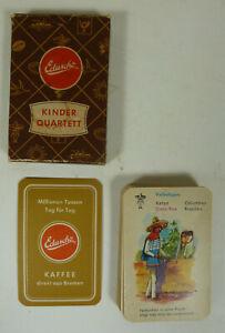 Quartett: Eduscho Kinder Quartett, ca 1960