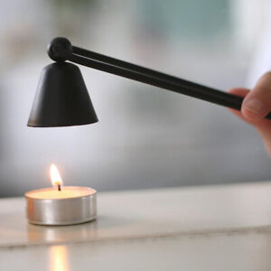 Metal Candle Snuffer Accessory for Putting Out Extinguish Candle Wicks Flame