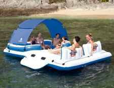 Bestway Tropical Breeze CoolerZ  6-Person Floating Island Lounger Raft Pool Toy