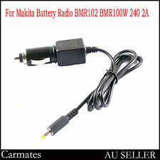 12-14.4V car charger adaptor for makita battery radio BMR102 MP3 DMR105 240 2A