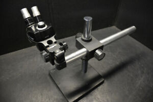 Bausch & Lomb Stereo Zoom Microscope with Boomstand