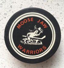 Vintage CHL Moose Jaw Warriors Puck