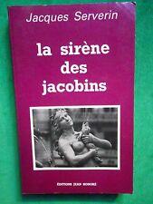 LA SIRENE DES JACOBINS JACQUES SERVERIN T2 OMBRELLES DU QUAI PIERRE SCIZE LYON