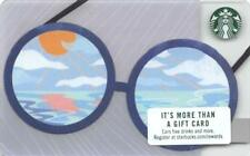 Starbucks Sunglasses Gift Card Collectible NEW NV - Pin Cover