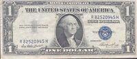 USA 1 Dollar 1935 E Silver Certificate One Banknote Schein Gute Erhaltung #21960