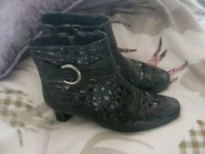 ladies verdi patent leather hotter ankle boots,size  5, ideal for everyday wear