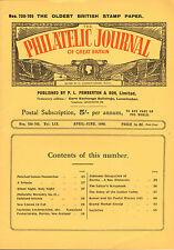 the philatelic journal of great britain . april - june  1949