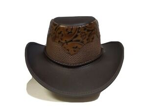 American Hat Makers Limited Edition Leather Hat