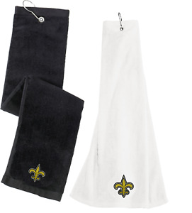New Orleans Saints promo Grommeted Tri-Fold Golf Towel Embroidered