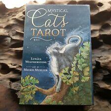 Mystical Cats Tarot Lunea Weatherstone