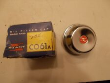 Chrome Vintage NOS Oil Fill Breather Cap CO61A Stant 55 57 59 61 63 67 Chevy V8
