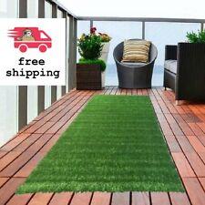 Artificial Turf Rug Carpet Patio Fake Grass Balcony Astro Runner 3'0