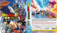 Dragon Ball Super (Episode 1 - 131 End + 3 Movie) ~ 14-DVD ~ English Dub Version
