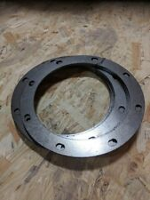 """Hot dipped galvanized 7GA Flat Ban Flange Punched 12"""""""