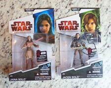 Jaina & Jacen Solo BD59 BD60 STAR WARS 2009 The Legacy Collection MOC