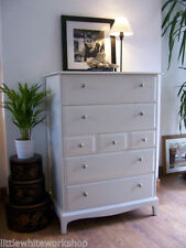Solid Wood Bathroom Chests of Drawers