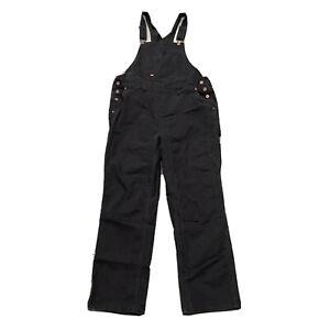 Dickies Double Knee Overalls Black XL