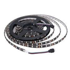 Black PCB 5m 5050 SMD 300 Waterproof LED Flexible Strip Lights Tape Lamp 12v DC Cool White 5m 300leds