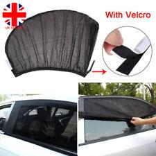 2x Car Sun Shade Net Mesh Cover Blocker Rear Side Window Baby Kids UV Protection