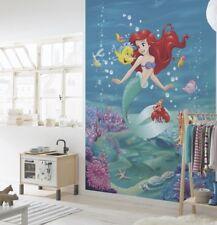 Wall Mural Wallpaper Disney Mermaid 254x184cm Large Photo Decor for Kids Room