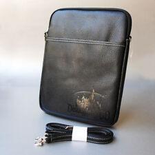 Disneyland Black Leather iPad Tablet Cover Case Diamond Celebration D-Tech D60