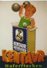 Original Plakat - KENTAUR Haferflocken